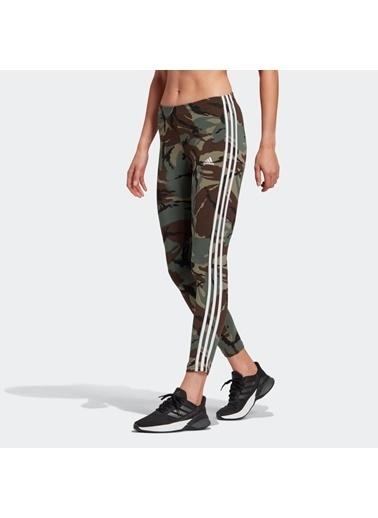 adidas Adidas Kadın Günlük Tayt W Camo 78 Leg Gl1420 Haki